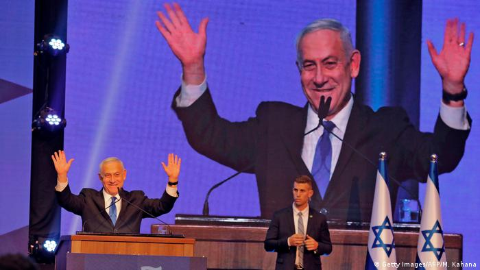 Wahlen in Israel- Benjamin Netanyahu (Getty Images/AFP/M. Kahana)