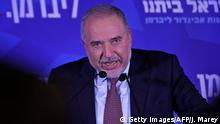 Wahlen in Israel - Avigdor Lieberman