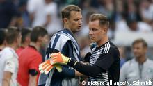 Deutschland - Saudi Arabien Manuel Neuer und Marc-Andre ter Stegen