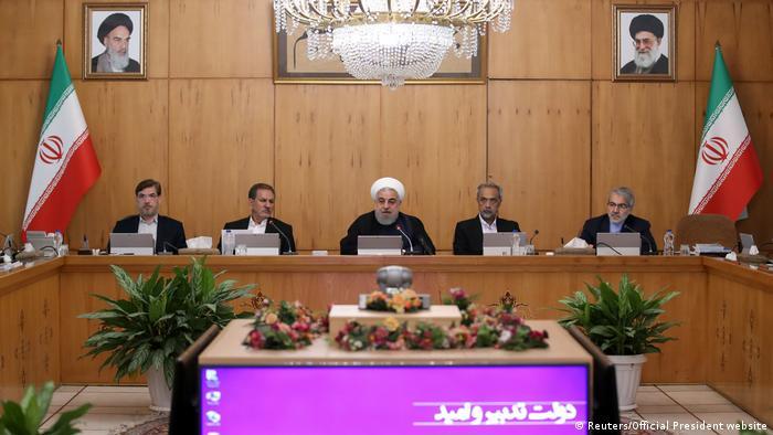 Iran Kabinettssitzung in Teheran | Präsident Hassan Rohani