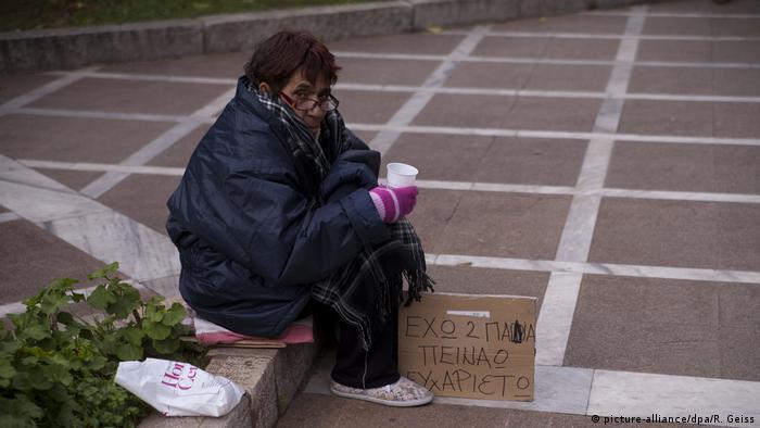 Griechenland Symbolbild Armut