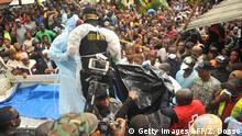 Liberia Brand in einer Koranschule in Monrovia