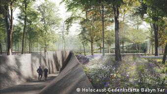 Проект должен соединить ландшафт Бабьего Яра и мемориальный комплекс