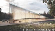Ukraine Visualisierung Holocaust-Gedenkstätte Babyn Yar