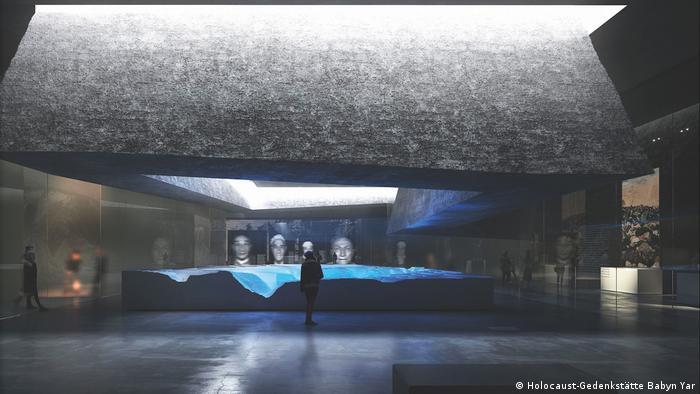 Фрагмент проекта Мемориального центра Холокоста Бабий Яр