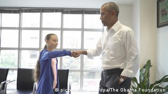 Грета Тунберг і Барак Обама зустрілися у Вашингтоні 18 вересня 2019 року
