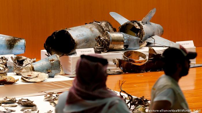 Saudi-Arabien | Nach Angriff auf Ölanlagen in Saudi-Arabien (picture-alliance/dpa/Bildfunk/A. Nabil)