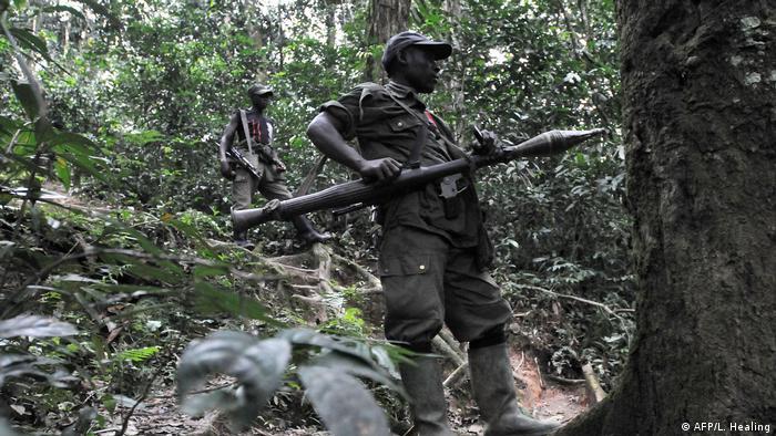 FDLR-Kämpfer im Kongo (Archivbild)