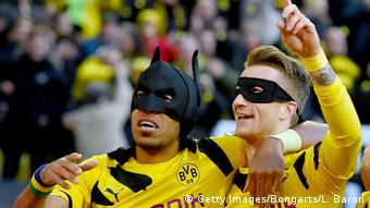 Aubameyang formed a great partnership with Marco Reus at BVB