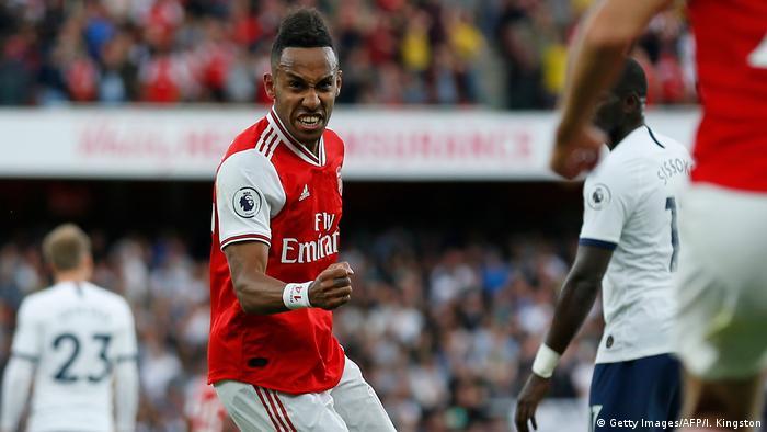 Europa League: On-fire Aubameyang returns to Germany