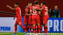 Fußball: Champions League | Bayer 04 Leverkusen vs Lokomotive Moskau | 1:1