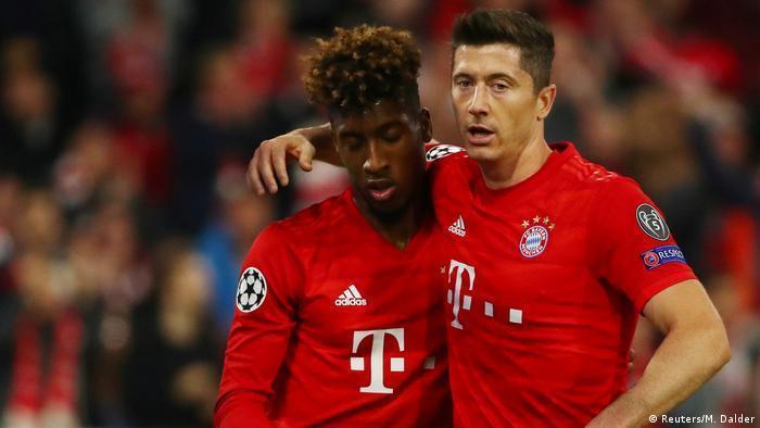 Champions League Bayern Gewinnen Geduldsprobe Gegen Roter