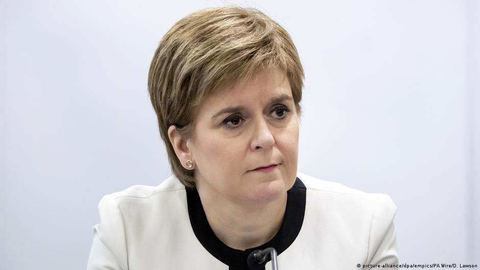 Scotland's Sturgeon hopes court will rule against Johnson