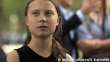 Greta Thunberg in den USA
