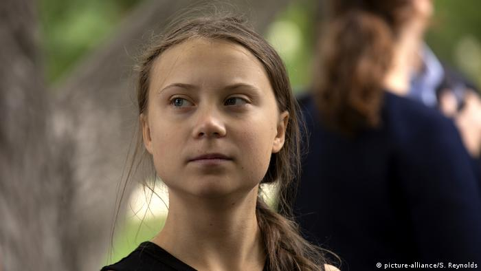 Greta Thunberg in the USA (picture-alliance/S. Reynolds)