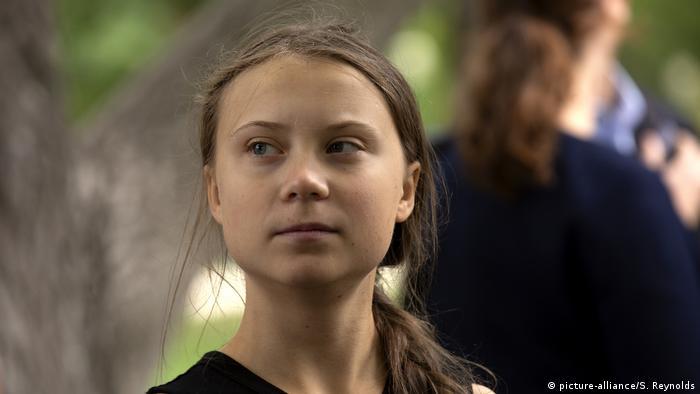 Greta Thunberg in den USA