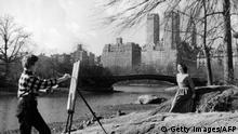 USA, New York: Central Park 1930