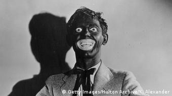An actor in blackface in a 1930 film