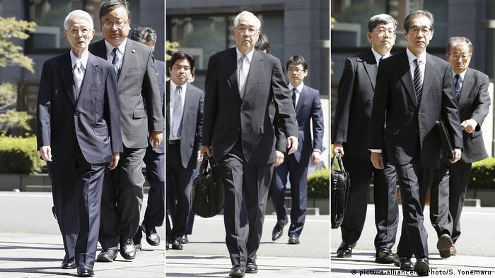 Ексочільник TEPCO Цунехіса Кацумата та два віцепрезиденти Сакае Муто і Ітіро Такекуро визнані невинними у катастрофі на Фукусімі