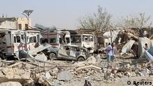 Afghanistan Anschlag auf Krankenhaus in Sabul