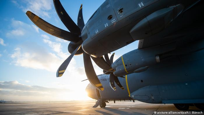 Airbus A400M of the Bundeswehr