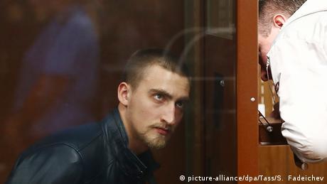 Протести у Москві: суд звільнив із СІЗО актора Павла Устінова
