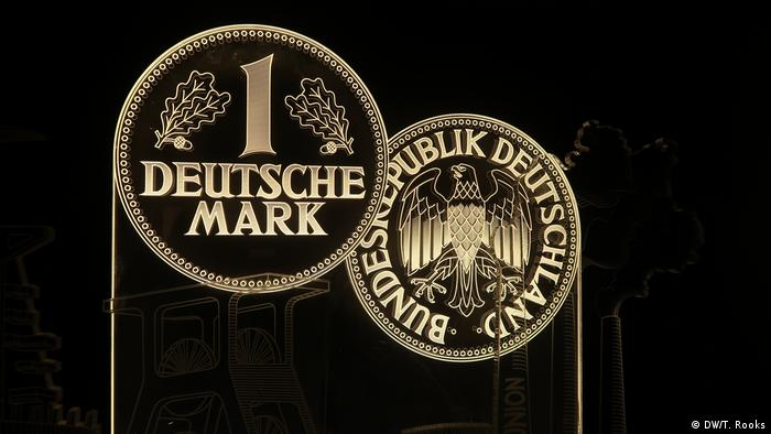 The German mark was the official currency of West Germany and was first issued by Allied occupation forces in 1948. It served as the country's cash through the unification with East Germany until 1999 when it was replaced by the euro - photo by Timothy A. Rooks