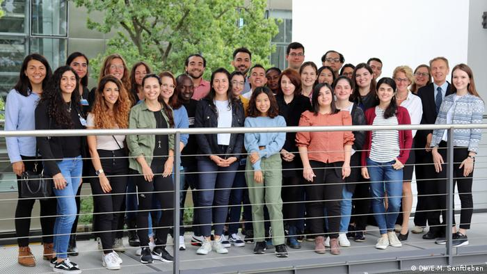 The International Media Studies class of 2019-2021: 34 students from 27 countries