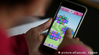 Candy Crush game on smartphone