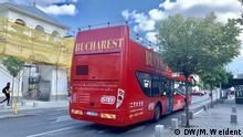 Rumänien Straßenszene aus Bukarest