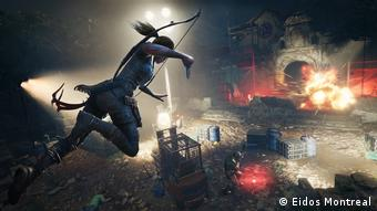 Screenshot of video game Shadow of the Tomb Raider