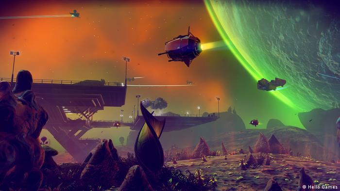 Screenshot of game No Man's Sky