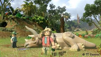 Screenshot Videospiel LEGO Jurassic World