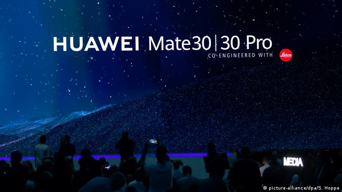 Pressekonferenz Huawei Mate 30 | 30 Pro (picture-alliance/dpa/S. Hoppe)