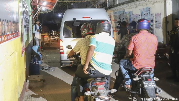 Bangladesch Aktion gegen illegale Casinos in Dhaka (bdnews24.com/A. Al Momin)