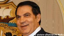Tunisien Ex-Präsident Zine El Abidine Ben Ali gestorben