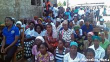 Mosambik Zambezia Anhänger MDM-Partei