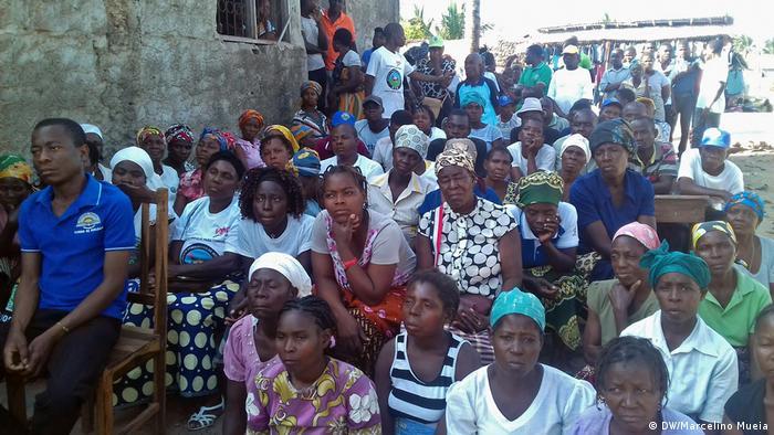 Apoiantes do MDM em Quelimane, a capital da província da Zambézia