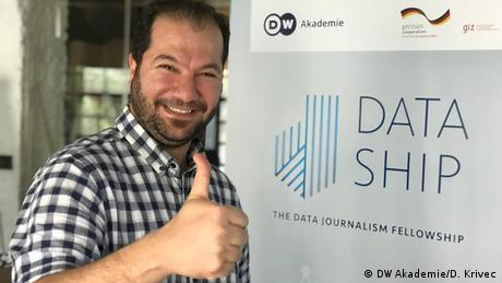 Mokthar is a native Syrian who is currently stationed in Jordan. He works for the Arab Reporters for Investigative Journalism (ARIJ) and is skilled in traditional investigative journalism. Mokthar joined the Dataship fellowship to learn how to code and to improve his data journalism skill set.