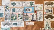 Briefmarken aus China
