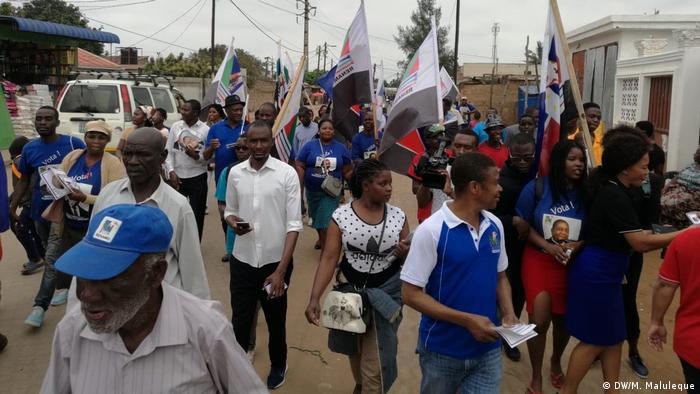 Mosambik RENAMO Kampagne
