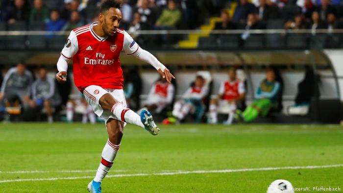 Fußball UEFA Europa League Eintracht Frankfurt - Arsenal FC London Tor 0:3