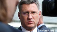 Brüssel Gasgespräche zwischen Russland Alexander Novak und Ukraine
