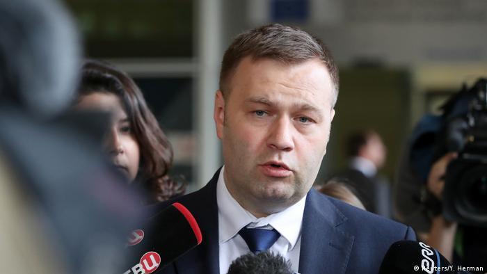 Міністр енергетики та захисту довкілля України Олександр Оржель