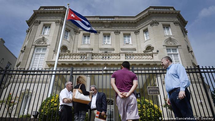 USA Kubanische Botschaft in Washington