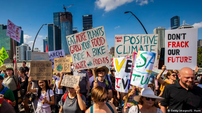 BG FFF weltweit | Australien | Klimastreik | Global Strike 4 Climate | Brisbane (Getty Images/G. Hunt)