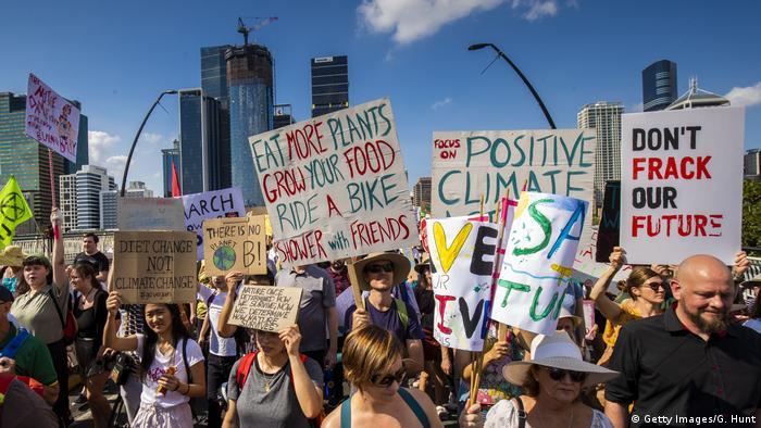 BG FFF weltweit | Australien | Klimastreik | Global Strike 4 Climate | Brisbane