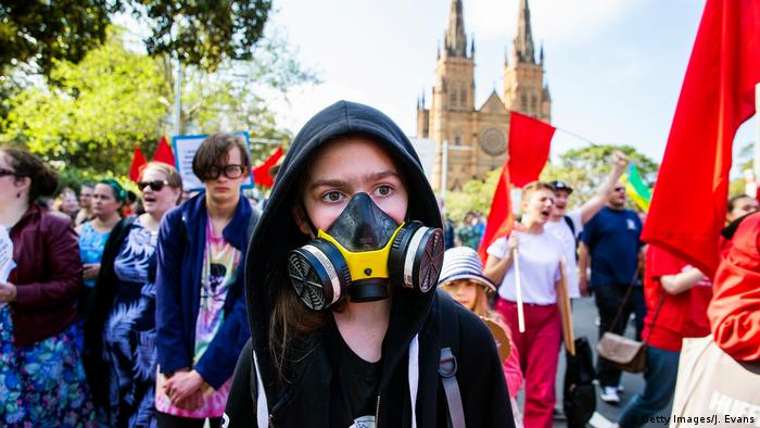 BG FFF weltweit | Australien | Klimastreik | Global Strike 4 Climate (Getty Images/J. Evans)