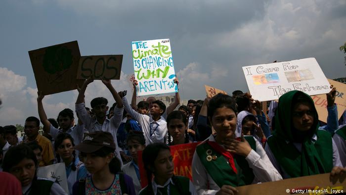 Bangladeshi protestors