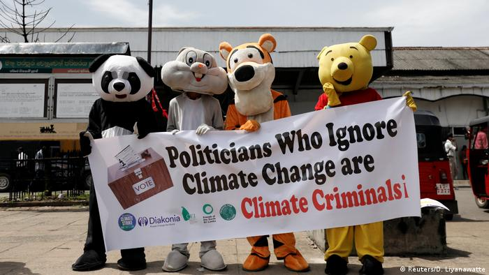 BG FFF weltweit   Sri Lanka   Klimastreik   Global Strike 4 Climate   Colombo (Reuters/D. Liyanawatte)